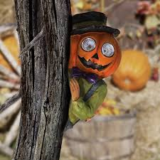 the aisle solar pumpkin tree hugger figurine reviews