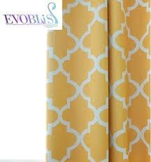 Geometric Orange Curtains Orange Blackout Curtains U2013 Teawing Co