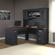 overstock l shaped desk fairview l shaped desk with hutch free shipping today
