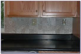 Vinyl Stick On Tile Backsplash Tiles  Home Design Ideas - Vinyl tile backsplash