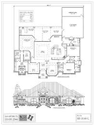 floor plans 3000 sq ft single level plans 3 000 to 3 999 sq ft by plan factory san antonio