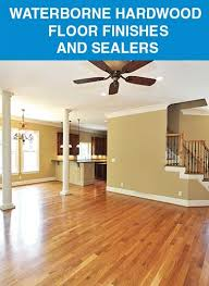 hardwood floor coatings finishes waterbased waterbourne act