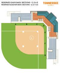 Stadium Floor Plan by University Of Tennessee Athletics