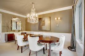 dining room chandelier ideas metal chair modern rug wooden floor dining room chandelier ideas metal chair modern rug wooden floor beige wall candleholders flower vase rectangular dining table high window traditional