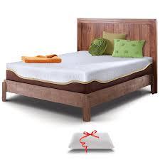 amazon com live and sleep resort elite queen size 10 inch firm