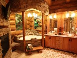 log cabin bathroom design so beautiful dream homes pinterest