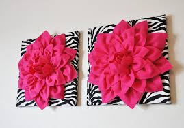 two wall dahlia on and