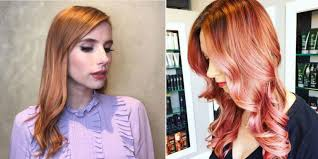 rose gold hair color 10 rose gold hair dye color ideas how to get rose gold hair