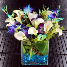 Calla Lily Flower Delivery - signature pacific blue cube products local florist in san