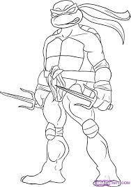 teenage mutant ninja turtles coloring pages raphael dc u0027s bday