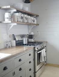 Ana White Tiny House Kitchen by Ana White Open Shelves For Our Cabin Kitchen Diy Projects