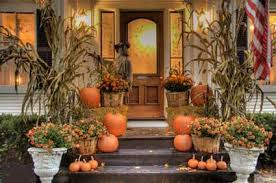 fall decorations for outside 22 fall front porch ideas veranda home stories a to z