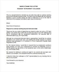 retirement letter samples retirement letter 17 download free documents in pdf word brilliant