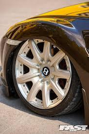 stanced bentley mazda rx 8 on bentley wheels fast car