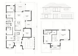 floor plan two storey small contemporary house plans two storey floor plan and