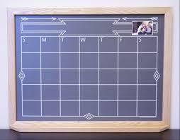 Wall Calendar Organizer Black