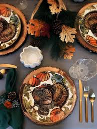 my thanksgiving table setting some tips to inspire yours vilma