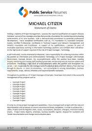 selection criteria writers statement of claims writers aps
