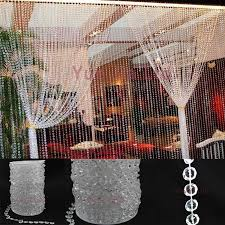 cheap garlands for weddings 30 meters garland diamond strand acrylic bead curtain