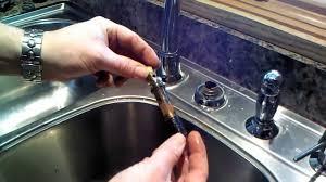 single handle kitchen faucet repair pegasus faucets cleandus