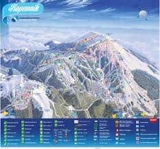 Map Of Serbia Trail Map Kopaonik