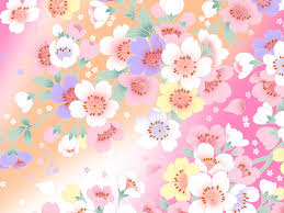 walppar madre 1600 1200 sweet flower pattern colors in japanese style