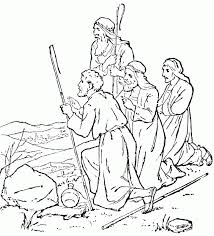 bible coloring pages paul coloring