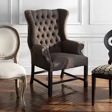 Upholstered Dining Room Chairs With Arms Plain Upholstered - Cushioned dining room chairs