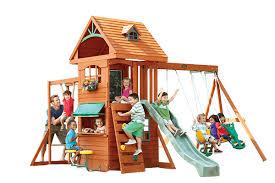 big backyard play set