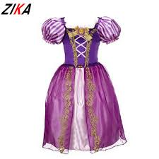 Halloween Princess Costumes Aliexpress Buy Zika Girls Cinderella Dresses Children