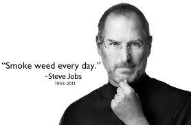 Smoke Weed Everyday Meme - steve jobs 1955 2011 smoke weed everyday know your meme