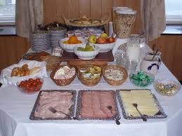 how to set up a buffet table breakfast buffet table set up each morning picture of hotel