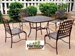 Mainstays Searcy Lane 6 Piece Padded Folding Patio Dining Set - patio 8 patio dining sets discount dining patio sets