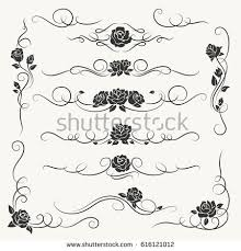 vine border stock images royalty free images vectors