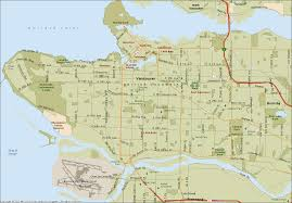Vancouver Canada Map by Vancouver Map Online Map