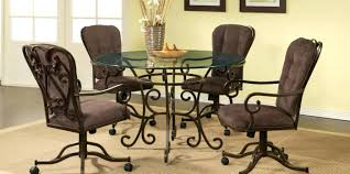 articles with rolling swivel dining chairs tag breathtaking