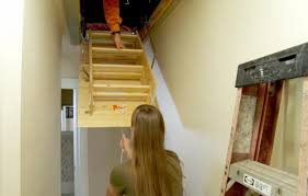 how to replace a pull down attic staircase this old house