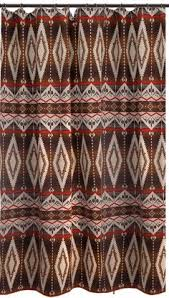 Western Fabric For Curtains Pecos Trail Shower Curtain 72 X 72 Housewares Rustic Western