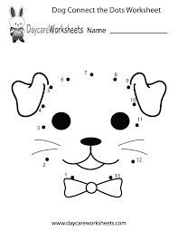 dot coloring pages preschoolers can connect the dots to make a dog in this free