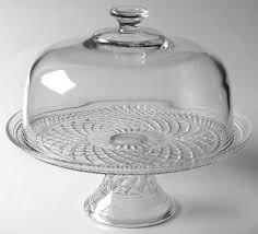 Crystal Pedestal Cake Stand Anchor Hocking Wexford At Replacements Ltd Page 2