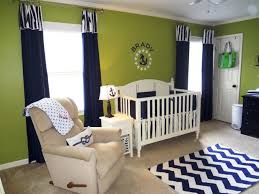 Navy Blue Curtains For Nursery Baby Nursery Baby Room Decoration Using White Crib And