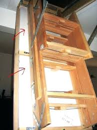 Attic Stairs Design Attic Ladder Hinges Lowes Insulated Insulating Stairs Stair Design
