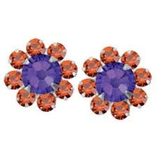 flirties earrings 35 best clemson jewelry accessories images on