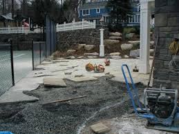 How To Lay Flagstone Patio Are Your Dry Laid Walks And Patios Heaving Landscapeadvisor