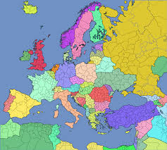 A Map Of Europe Image European Europe Map With Regions Png Thefutureofeuropes