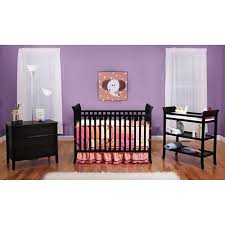 black crib with changing table bsf baby 4 in 1 sleigh crib changing table and clothing organizer