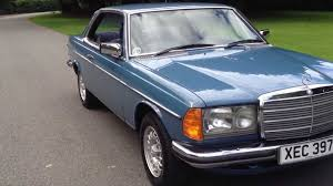 1983 mercedes 230ce automatic coupe w123 for sale