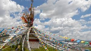 Prayer Flags Free Images Landscape Vehicle Amusement Park Toy Tibet