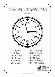 colour by number roman numerals roman numerals list new calendar