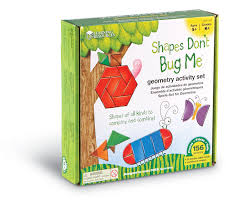 amazon com learning resources shapes don u0027t bug me geometry